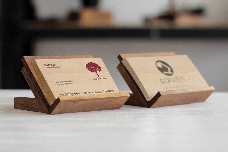 Wooden Luxury Business Card - Wood Print Car Dubai